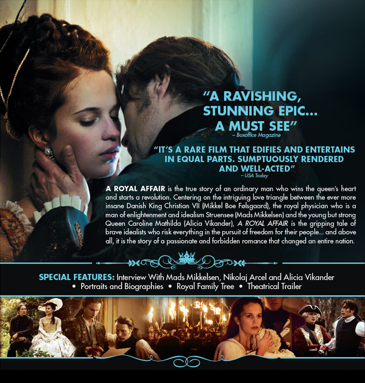 A Royal Affair (Offici... Olivia Wilde