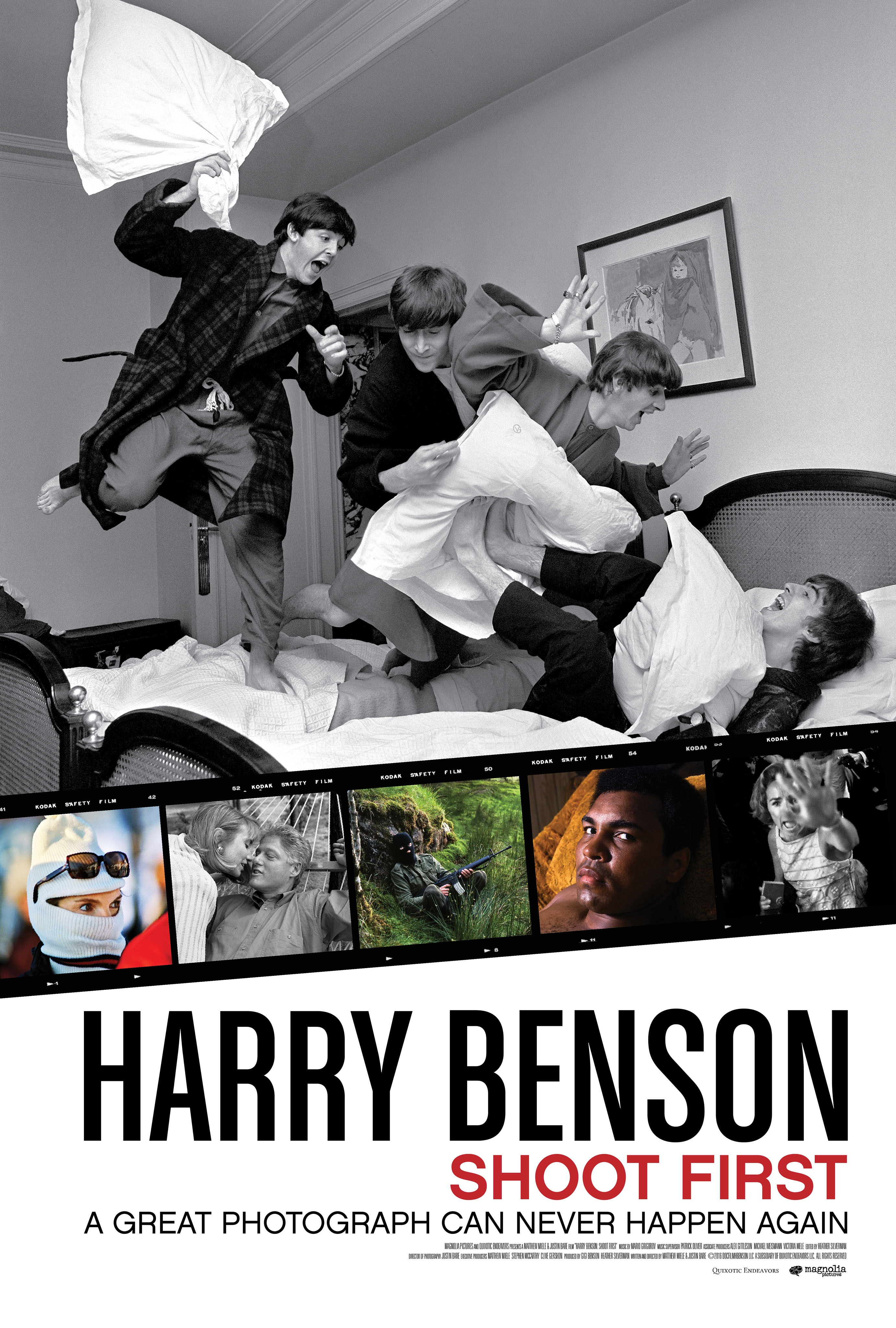 Harry Benson: Shoot First (Official Movie Site) - Own it on