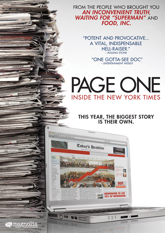 Page One (Official Movie Site) - Starring David Carr, Bruce