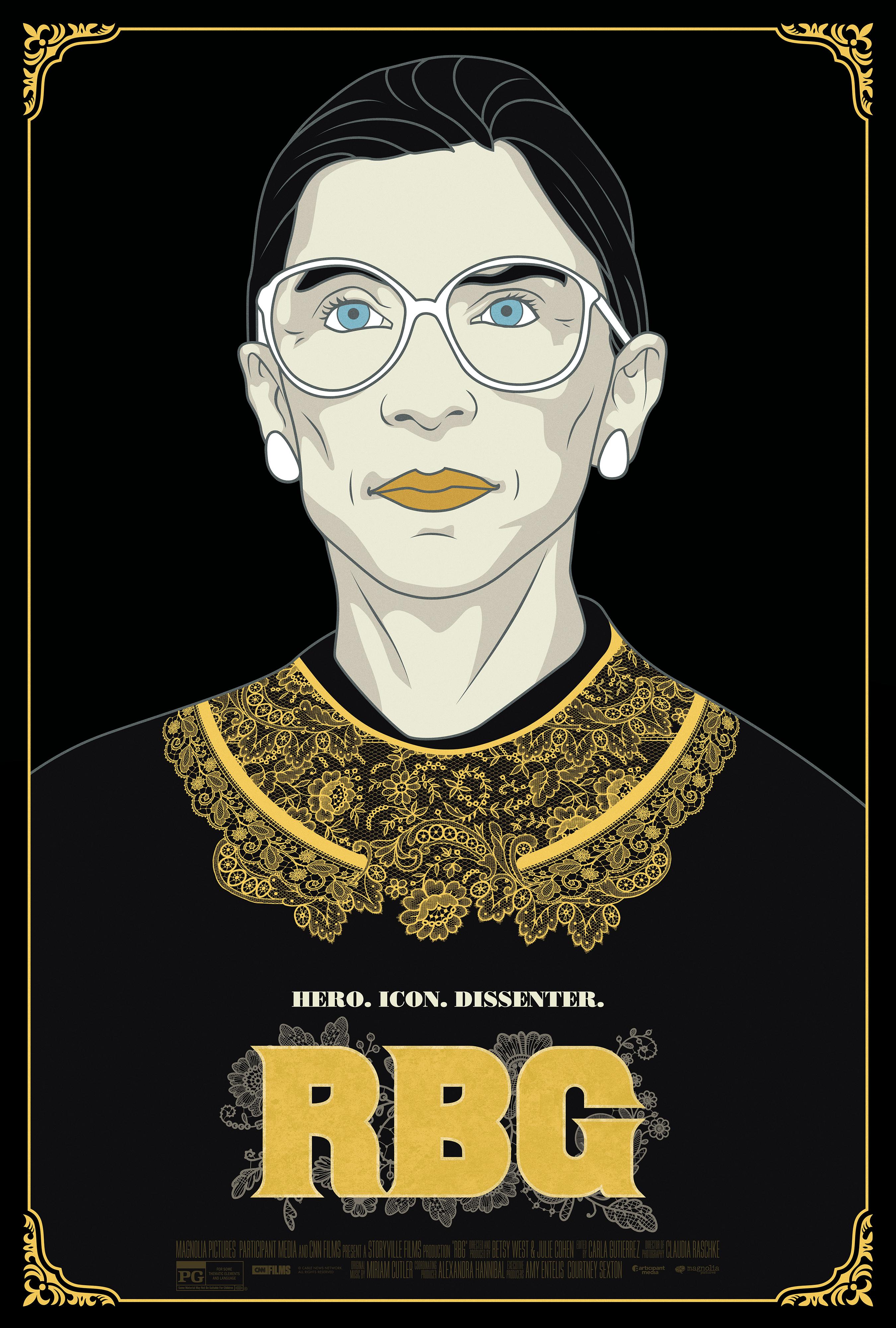 RBG film poster