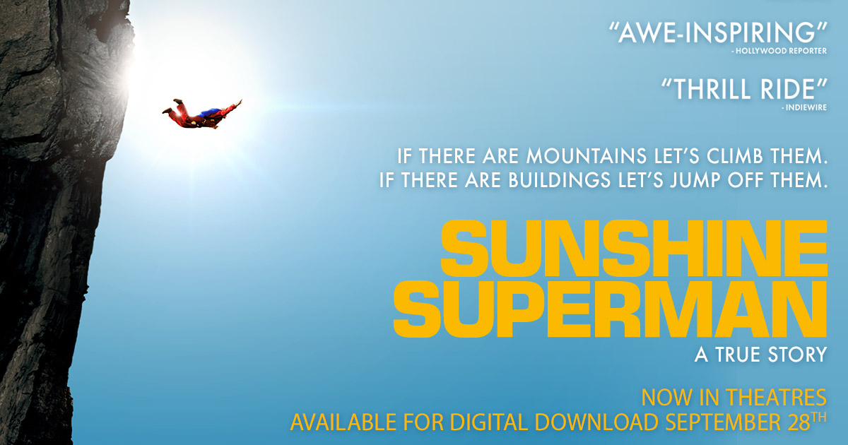 sunshine superman official movie site directed by