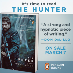 It's time to read THE HUNTER