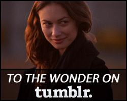 To The Wonder on Tumblr